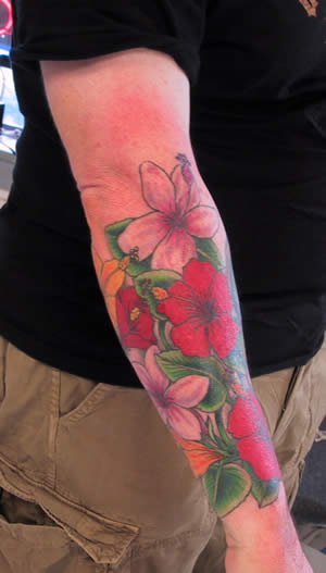 hibiskus tattoo. Hibiscus Tattoo Design